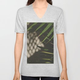 light, shadows, and leaves Unisex V-Neck