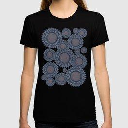 Blue sunflowers T-shirt