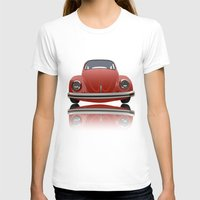 vw T-shirts featuring VW Beetle by Nove Studio