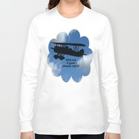 airplane Long Sleeve T-shirts featuring airplane by Karl-Heinz Lüpke