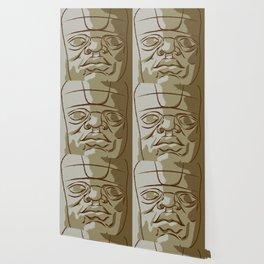 Olmeca Head Wallpaper