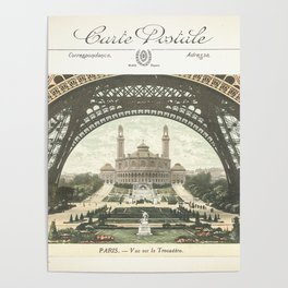 Paris Postcard #2 by Murray Bolesta Poster