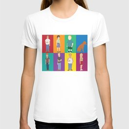 king of the hill characters T-shirt