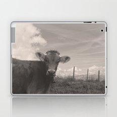 vintage cow Laptop & iPad Skin