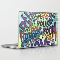 computer Laptop & iPad Skins featuring COMPUTER WORDS by Josh LaFayette