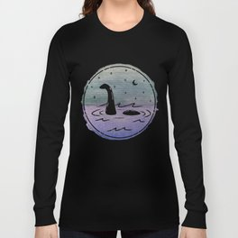 Watercolor Nessie Long Sleeve T-shirt