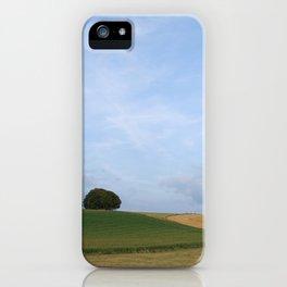 Rural Farmland Landscape iPhone Case