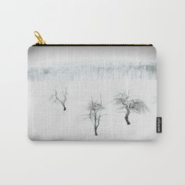Bare bones in Winter Carry-All Pouch