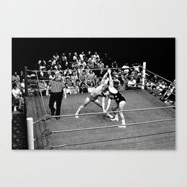 Kevin VonEric vs Frank Star Canvas Print
