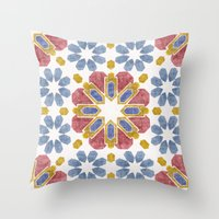 morocco Throw Pillows featuring Morocco by Vicky Webb