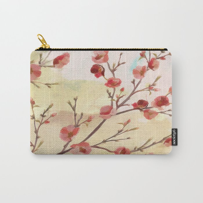 Cherry Blossom - Variation 2 Carry-All Pouch
