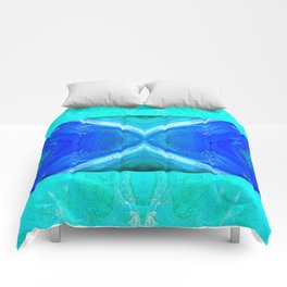 483 - Abstract colour design Comforters