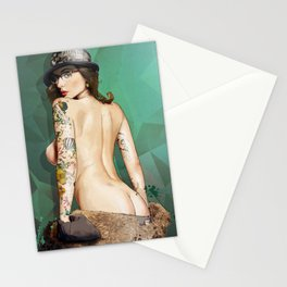 Self Portrait as a Lady No.3 AKA Self Portrait as Rrose Sélavy Stationery Cards