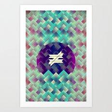 ≠. Art Print
