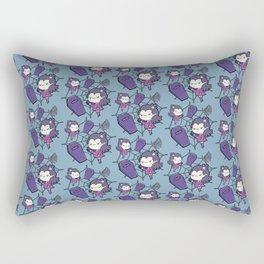 Little Miss Vampire Rectangular Pillow