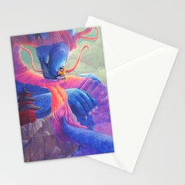 Dragon Hug Stationery Cards