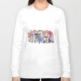 Illustration anime Long Sleeve T-shirt