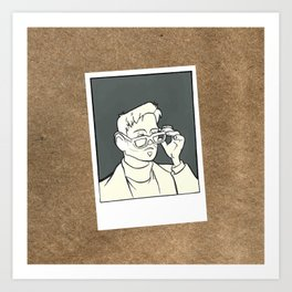 The Iron Giant - Dean McCoppin Art Print