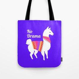No Drama Llama Tote Bag