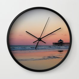 Ocean Oasis Wall Clock