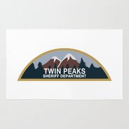 Twin peaks Sheriff department Rug