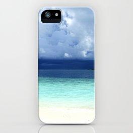 Maldives colors iPhone Case