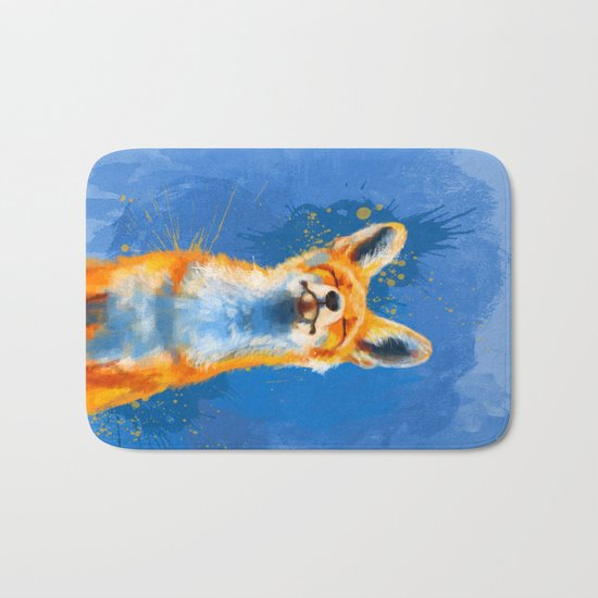 Happy Fox v2 Bath Mat