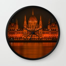 parlement budapest Wall Clock