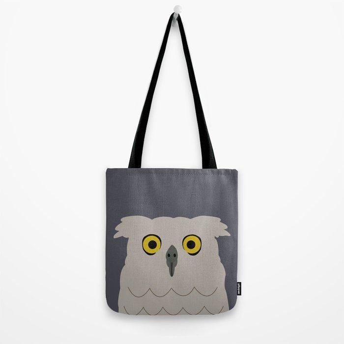 Wide Eyed Owl Tote Bag