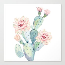 The Prettiest Cactus Canvas Print