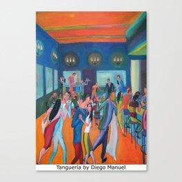 Tangueria by Diego Manuel Canvas Print