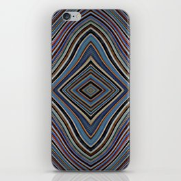 Wild Wavy Lines XXVIII iPhone Skin