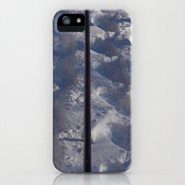 Snow #tracks iPhone Case