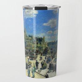 "Auguste Renoir ""Pont Neuf, Paris"" Travel Mug"