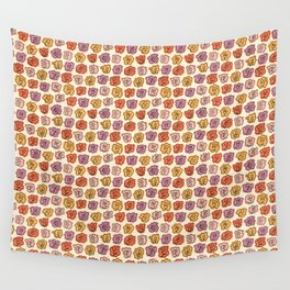Warm Roses Wall Tapestry
