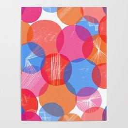 Bauhaus Bubbles Poster