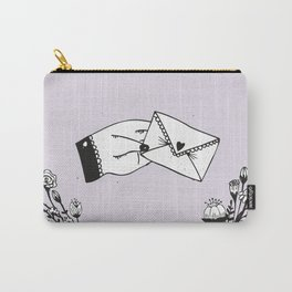 Snail Mail Love Carry-All Pouch