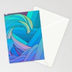 Wave after wave Stationery Cards