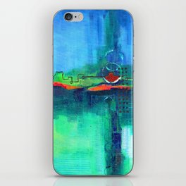Passing Storms iPhone Skin