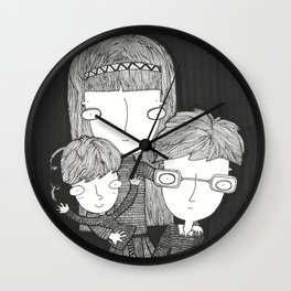 The Baudelaire orphans Wall Clock