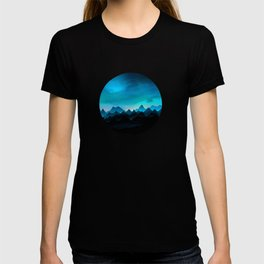 Night Storm In The Mountains T-shirt