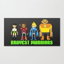 Bravest warriors!  Canvas Print