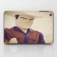 cowboy iPad Cases featuring Cowboy by Natasha N. Walker