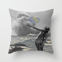 Moon Kingdom Rising Throw Pillow
