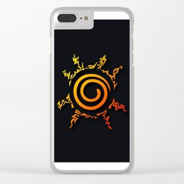 Seal 9 Tails Clear iPhone Case
