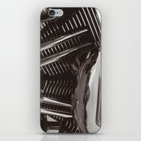 motorcycle iPhone & iPod Skins featuring Motorcycle by Jaci Wandell