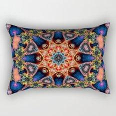 BBQSHOES: Kaleidoscopic Fractal Digital Art Design 1702K Rectangular Pillow