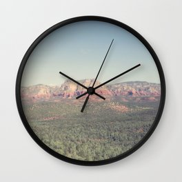 Sedona Skies Wall Clock