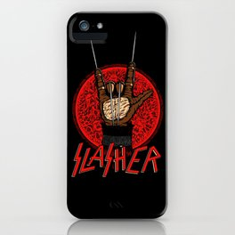 Slasher movie iPhone Case
