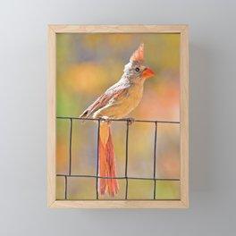 Sweet Girl Framed Mini Art Print